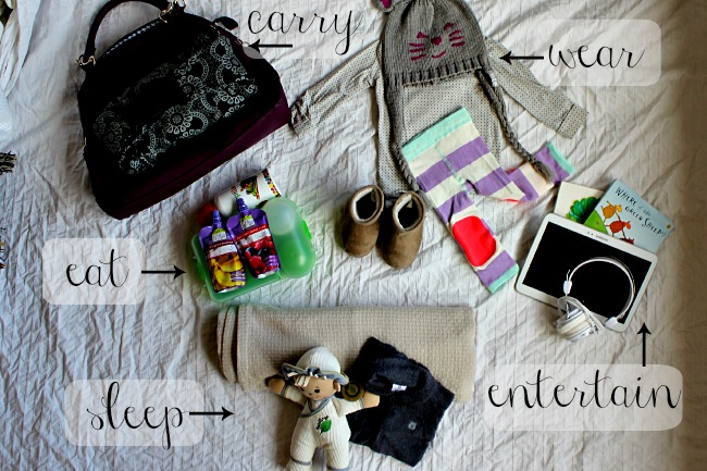 what to pack for a toddler
