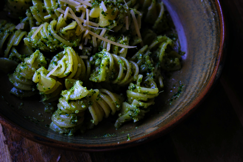 Inked in Colour - Kale + Pepita Pesto